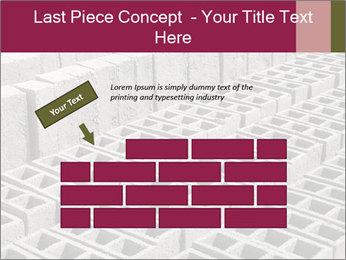 Concrete Bricks PowerPoint Template - Slide 46