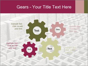 Concrete Bricks PowerPoint Template - Slide 47