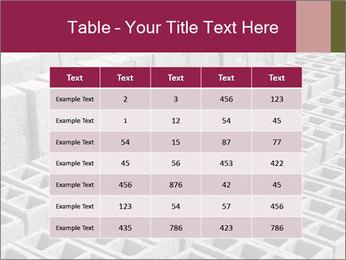 Concrete Bricks PowerPoint Template - Slide 55