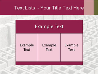 Concrete Bricks PowerPoint Template - Slide 59