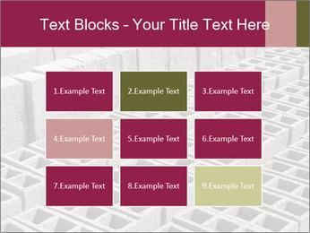 Concrete Bricks PowerPoint Template - Slide 68