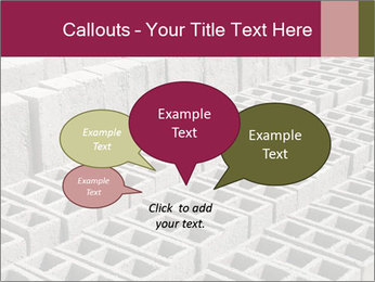 Concrete Bricks PowerPoint Template - Slide 73