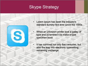 Concrete Bricks PowerPoint Template - Slide 8