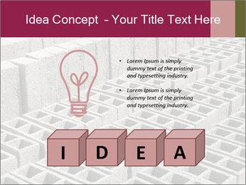 Concrete Bricks PowerPoint Template - Slide 80
