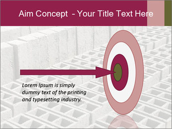 Concrete Bricks PowerPoint Template - Slide 83