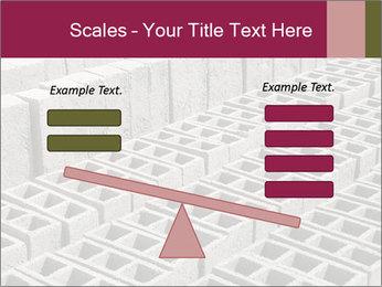 Concrete Bricks PowerPoint Template - Slide 89
