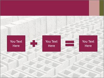Concrete Bricks PowerPoint Template - Slide 95