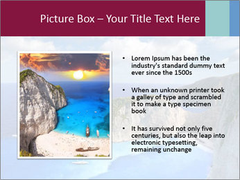 Greek Coast PowerPoint Templates - Slide 13