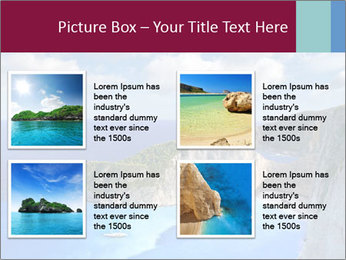 Greek Coast PowerPoint Template - Slide 14