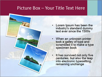 Greek Coast PowerPoint Template - Slide 17