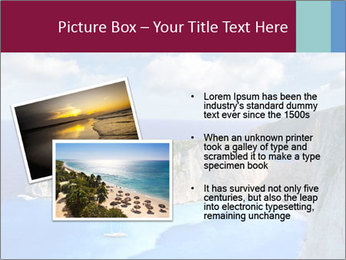 Greek Coast PowerPoint Template - Slide 20