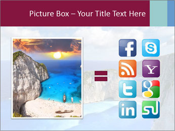 Greek Coast PowerPoint Template - Slide 21