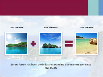 Greek Coast PowerPoint Template - Slide 22