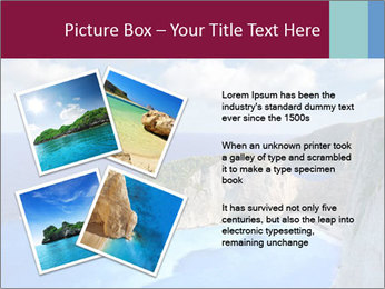 Greek Coast PowerPoint Template - Slide 23