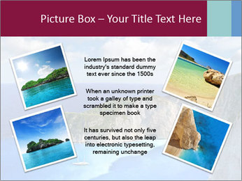 Greek Coast PowerPoint Template - Slide 24
