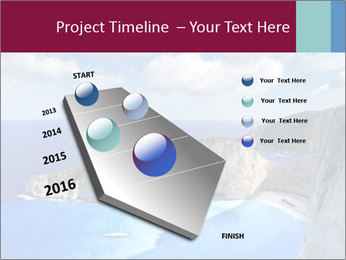 Greek Coast PowerPoint Template - Slide 26
