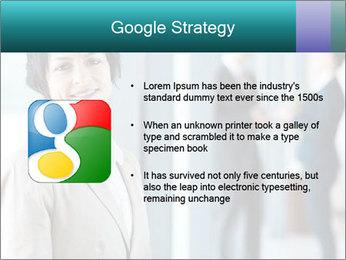 Confident Businesswoman PowerPoint Template - Slide 10