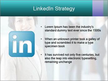 Confident Businesswoman PowerPoint Template - Slide 12