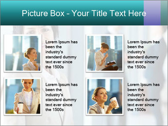 Confident Businesswoman PowerPoint Template - Slide 14
