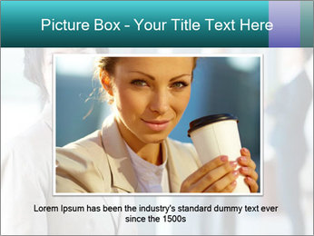 Confident Businesswoman PowerPoint Template - Slide 15