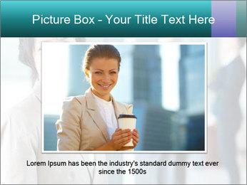 Confident Businesswoman PowerPoint Template - Slide 16