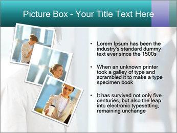 Confident Businesswoman PowerPoint Template - Slide 17