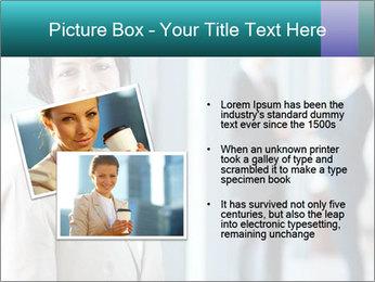 Confident Businesswoman PowerPoint Template - Slide 20