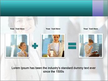 Confident Businesswoman PowerPoint Template - Slide 22