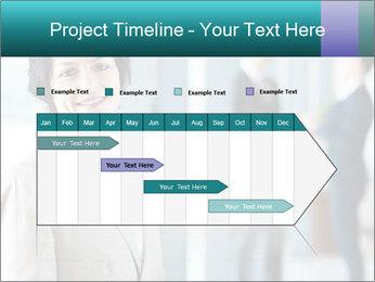 Confident Businesswoman PowerPoint Template - Slide 25
