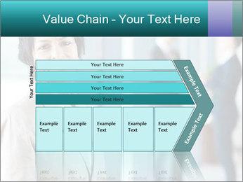 Confident Businesswoman PowerPoint Template - Slide 27