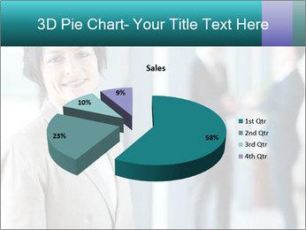 Confident Businesswoman PowerPoint Template - Slide 35