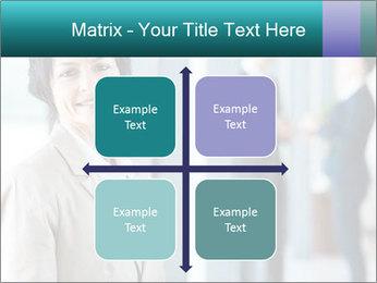 Confident Businesswoman PowerPoint Template - Slide 37