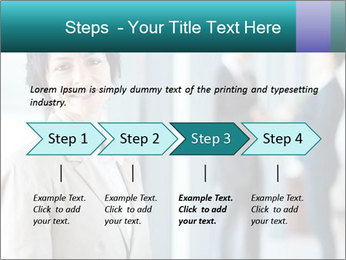 Confident Businesswoman PowerPoint Template - Slide 4