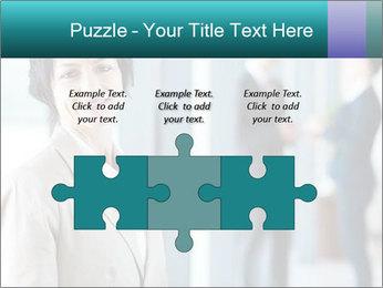 Confident Businesswoman PowerPoint Template - Slide 42