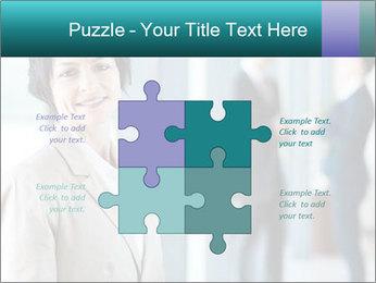 Confident Businesswoman PowerPoint Template - Slide 43