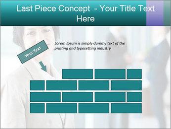Confident Businesswoman PowerPoint Template - Slide 46