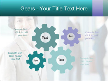 Confident Businesswoman PowerPoint Template - Slide 47