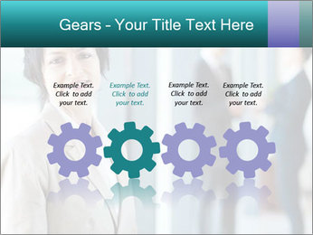 Confident Businesswoman PowerPoint Template - Slide 48