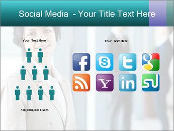 Confident Businesswoman PowerPoint Template - Slide 5