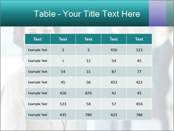 Confident Businesswoman PowerPoint Template - Slide 55