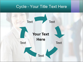 Confident Businesswoman PowerPoint Template - Slide 62
