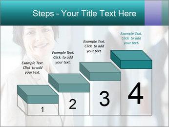 Confident Businesswoman PowerPoint Template - Slide 64