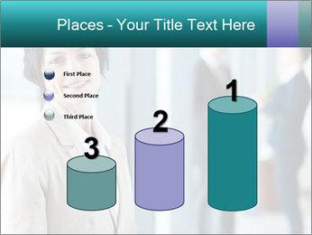 Confident Businesswoman PowerPoint Template - Slide 65