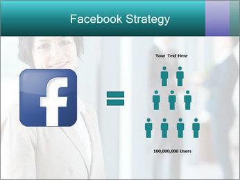 Confident Businesswoman PowerPoint Template - Slide 7