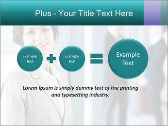 Confident Businesswoman PowerPoint Template - Slide 75