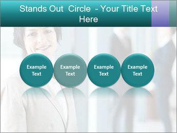 Confident Businesswoman PowerPoint Template - Slide 76