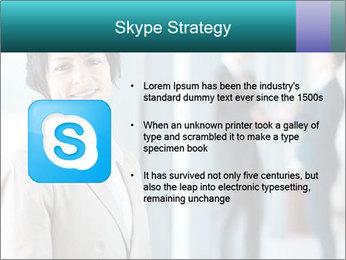 Confident Businesswoman PowerPoint Template - Slide 8