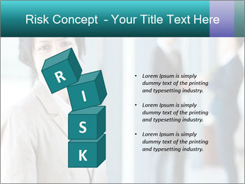 Confident Businesswoman PowerPoint Template - Slide 81