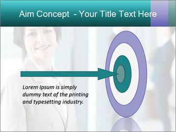 Confident Businesswoman PowerPoint Template - Slide 83