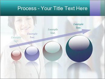 Confident Businesswoman PowerPoint Template - Slide 87